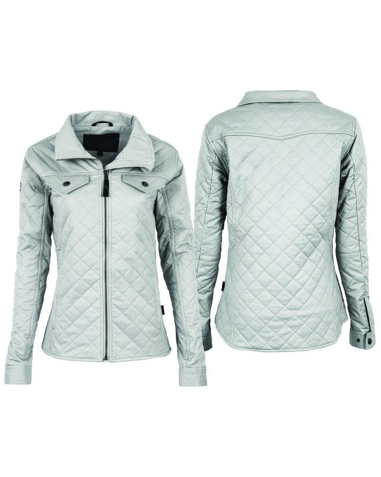 STS Ranchwear Women's Finley Jacket, Silver, hi-res