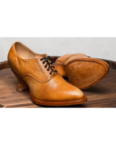 Oak Tree Farms Janet Natural Heels - Medium Toe, Natural, hi-res