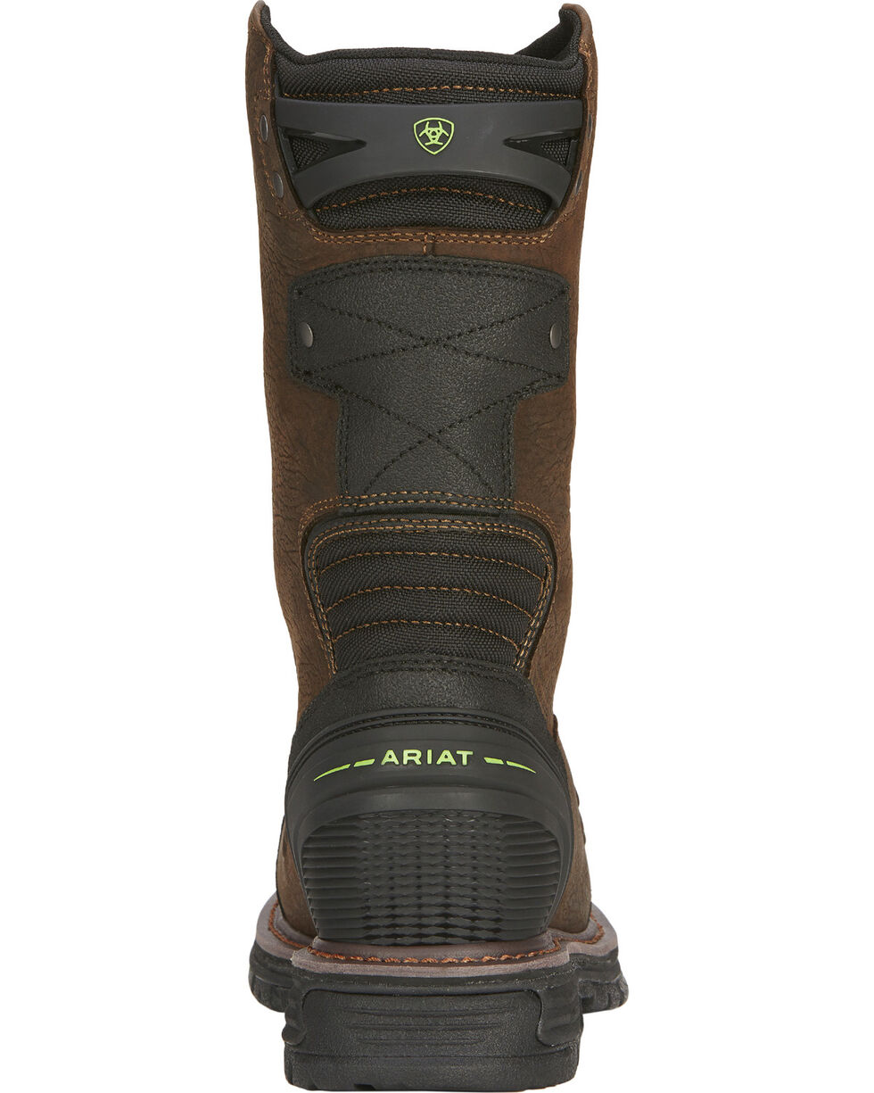 Ariat Men's Catalyst VX Waterproof Composite Toe Work Boots, Brown, hi-res