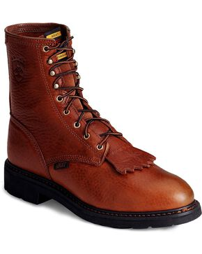 "Ariat Men's 8"" Cascade Work Boot, Bronze, hi-res"