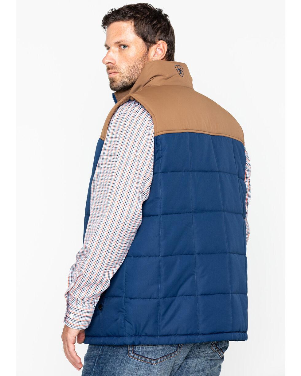 Ariat Men's Crius Insulated Vest, Navy, hi-res