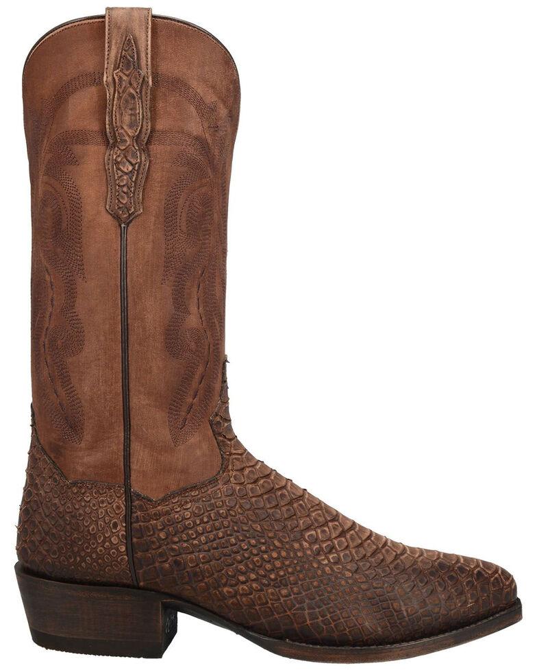 Dan Post Men's Mayson Western Boots - Snip Toe, Chocolate, hi-res