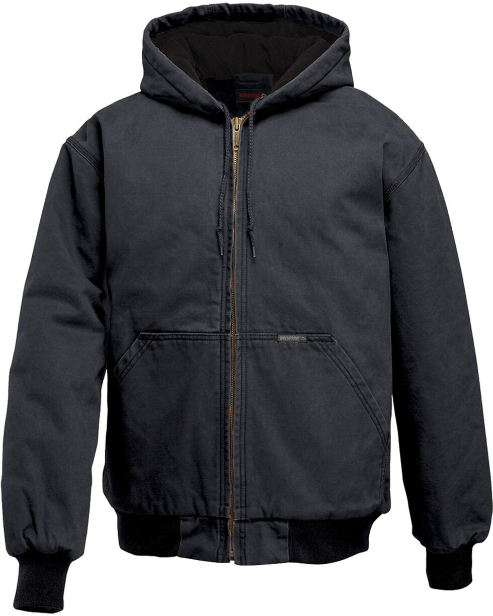 Wolverine Men's Houston Insulated Jacket, Black, hi-res