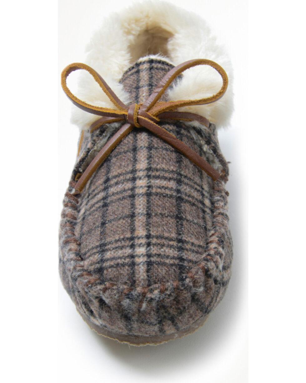 Minnetonka Women's Chrissy Plaid Slipper, Multi, hi-res