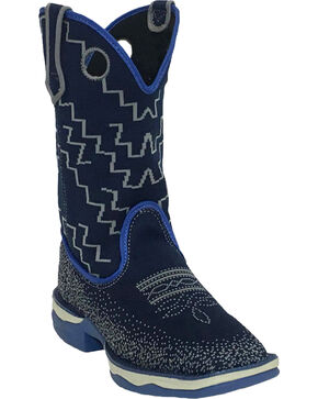 Laredo Women's Frolic Performair Western Boots, Blue, hi-res