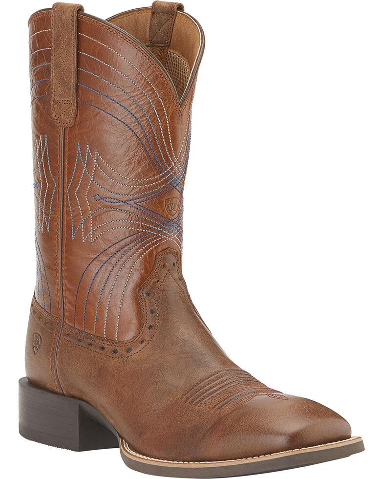 Ariat Men's Sport Square Toe Western Boots, , hi-res