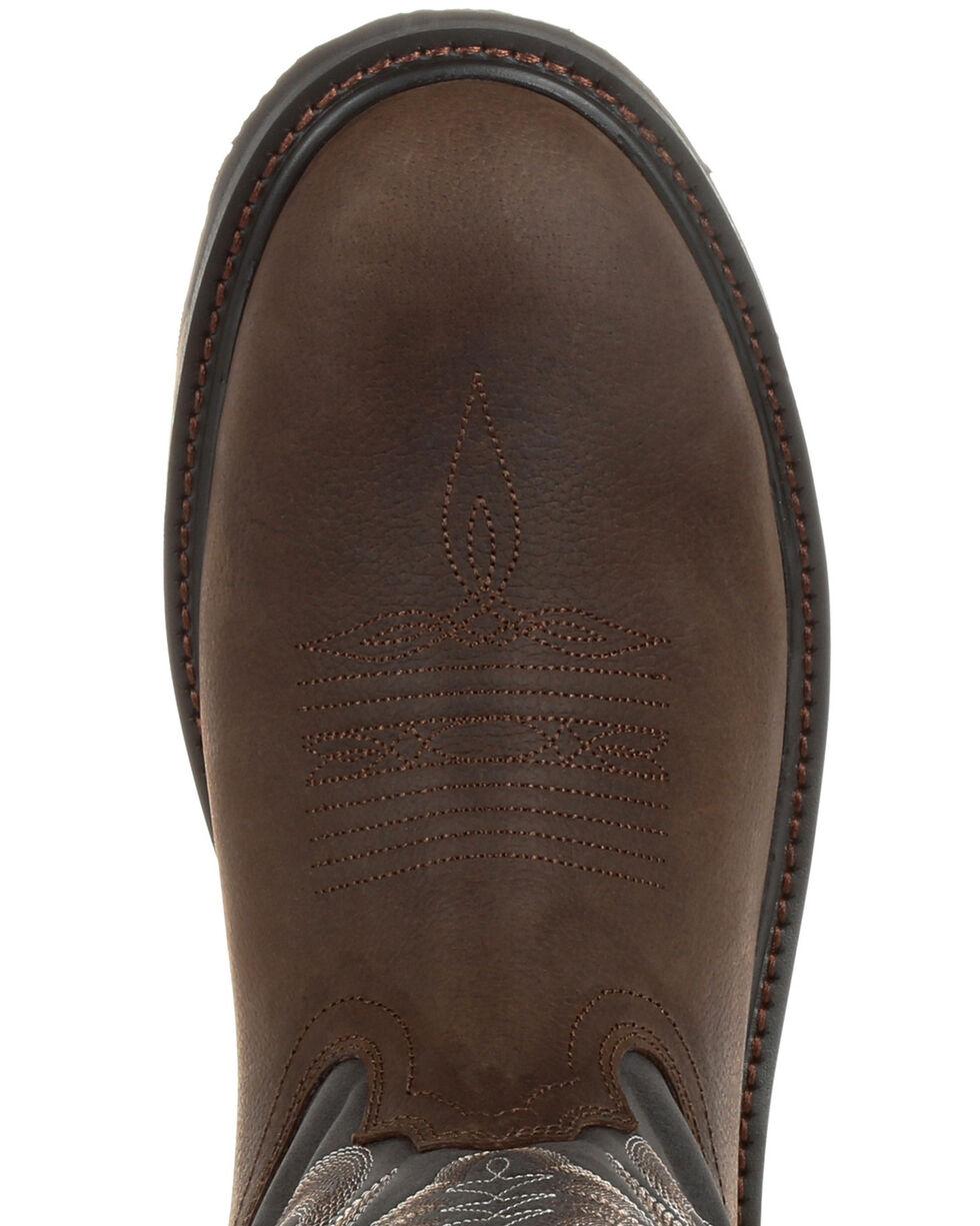 Durango Men's WorkHorse Western Work Boots - Round Toe, , hi-res
