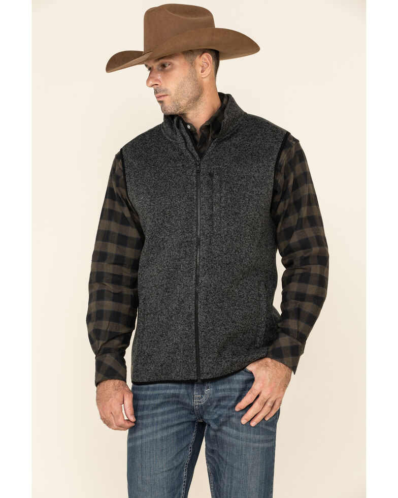 Cody James Men's Black Venture Sweater Vest , Black, hi-res