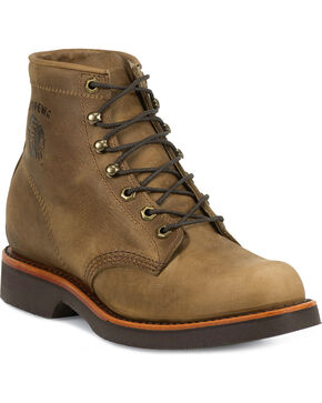 Chippewa Men's Utility Work Boots, Tan, hi-res