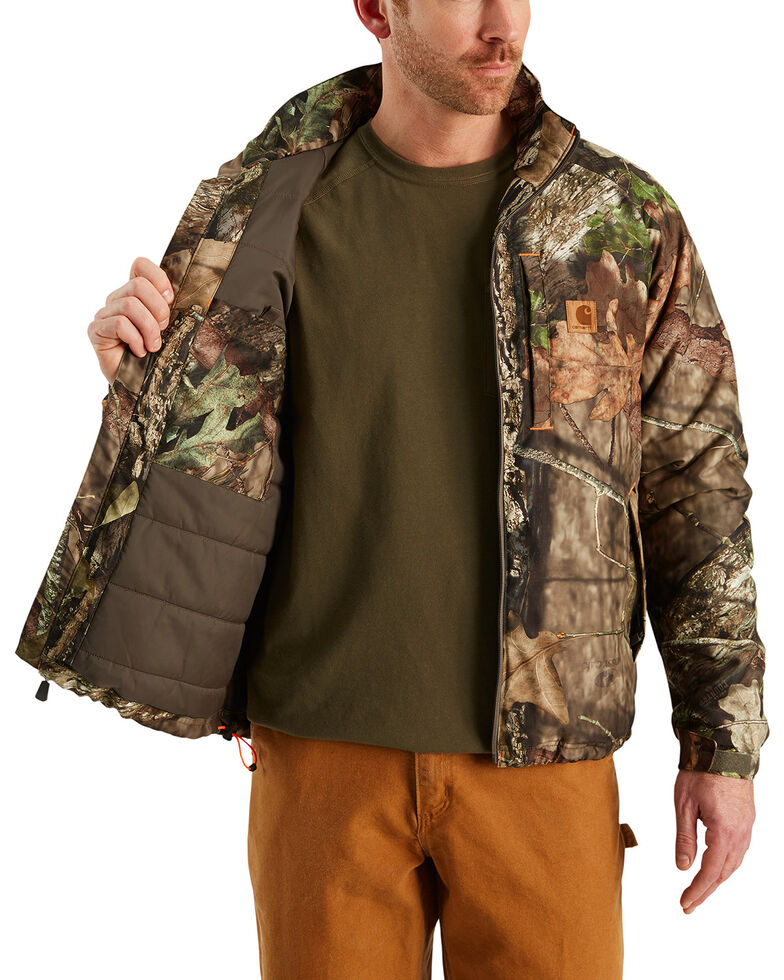 Carhartt Men's Camo 8 Point Work Jacket - Big & Tall , Camouflage, hi-res