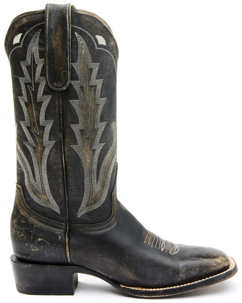 Idyllwind Women's Outlaw Performance Western Boots - Wide Square Toe, Black, hi-res