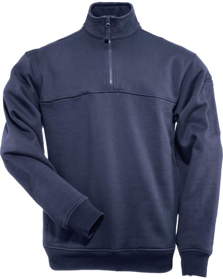 5.11 Tactical Quarter Zip Job Shirt - 3XL, Navy, hi-res