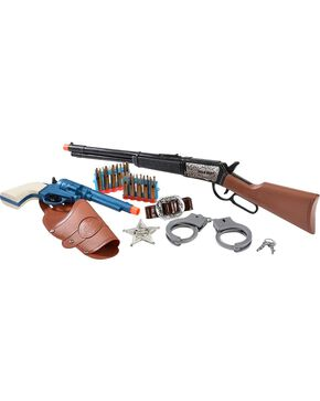 M&F Western Sheriff Rifle Play Set, Brown, hi-res