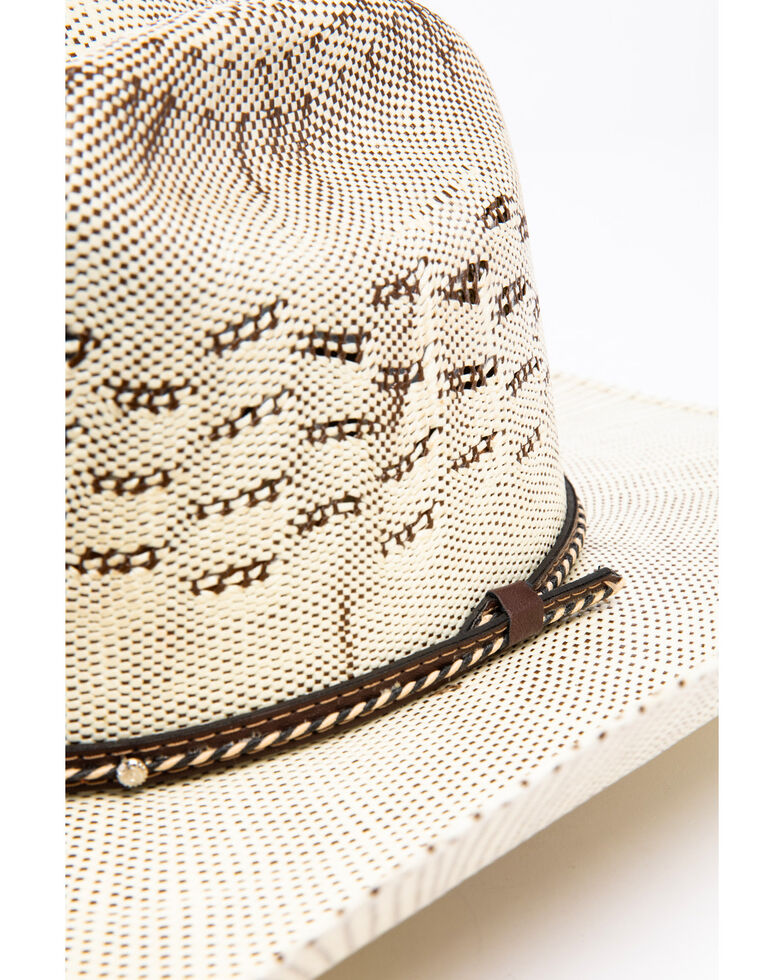 Cody James Men's Bangora Wide B Twist Cord Cowboy Hat, Natural, hi-res