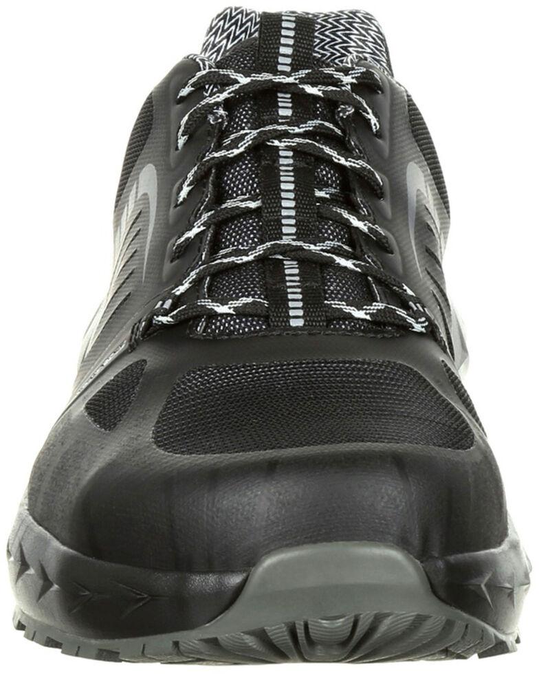 Rocky Men's LX Athletic Work Shoes - Alloy Toe, Black, hi-res
