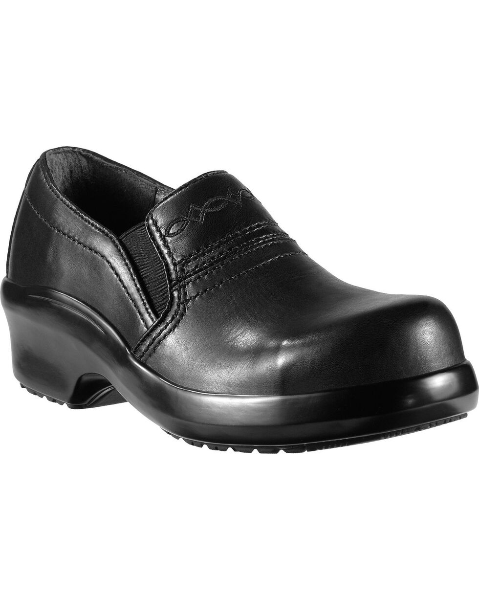Ariat Women's Expert Safety Composite Toe Work Clogs, Black, hi-res