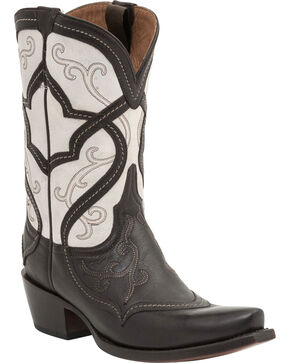 Lucchese Women's Audine Mosaic Western Boots, Whiskey, hi-res