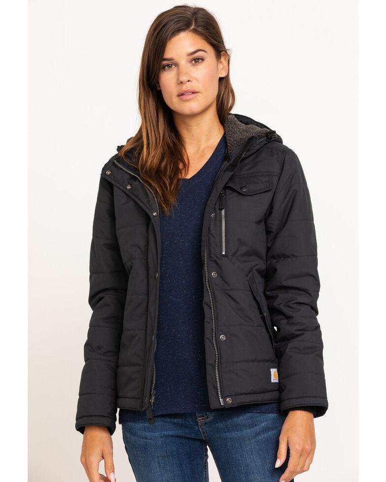 Carhartt Women's Black Utility Work Jacket , Black, hi-res