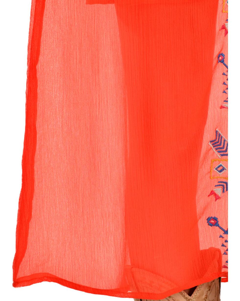 R Cinco Ranch My Way Orange Maxi Dress, , hi-res