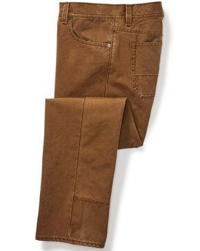 Filson Men's Dry Tin Cloth 5 Pocket Pants , Cognac, hi-res