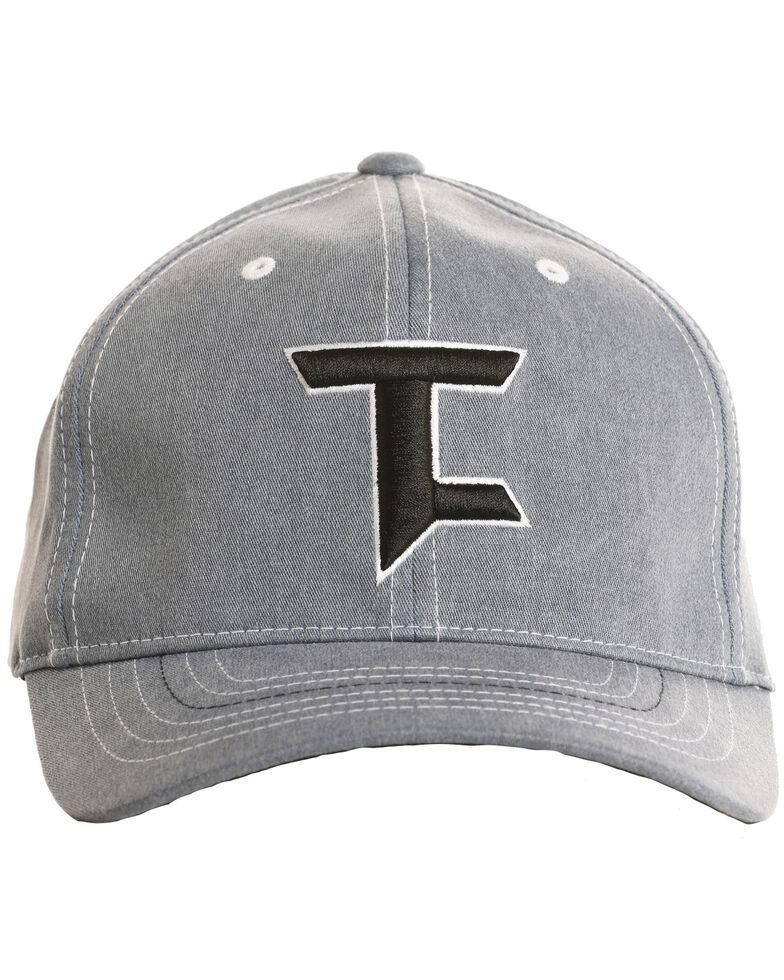 Tuf Cooper Men's Embroidered Black Logo Cap, Indigo, hi-res