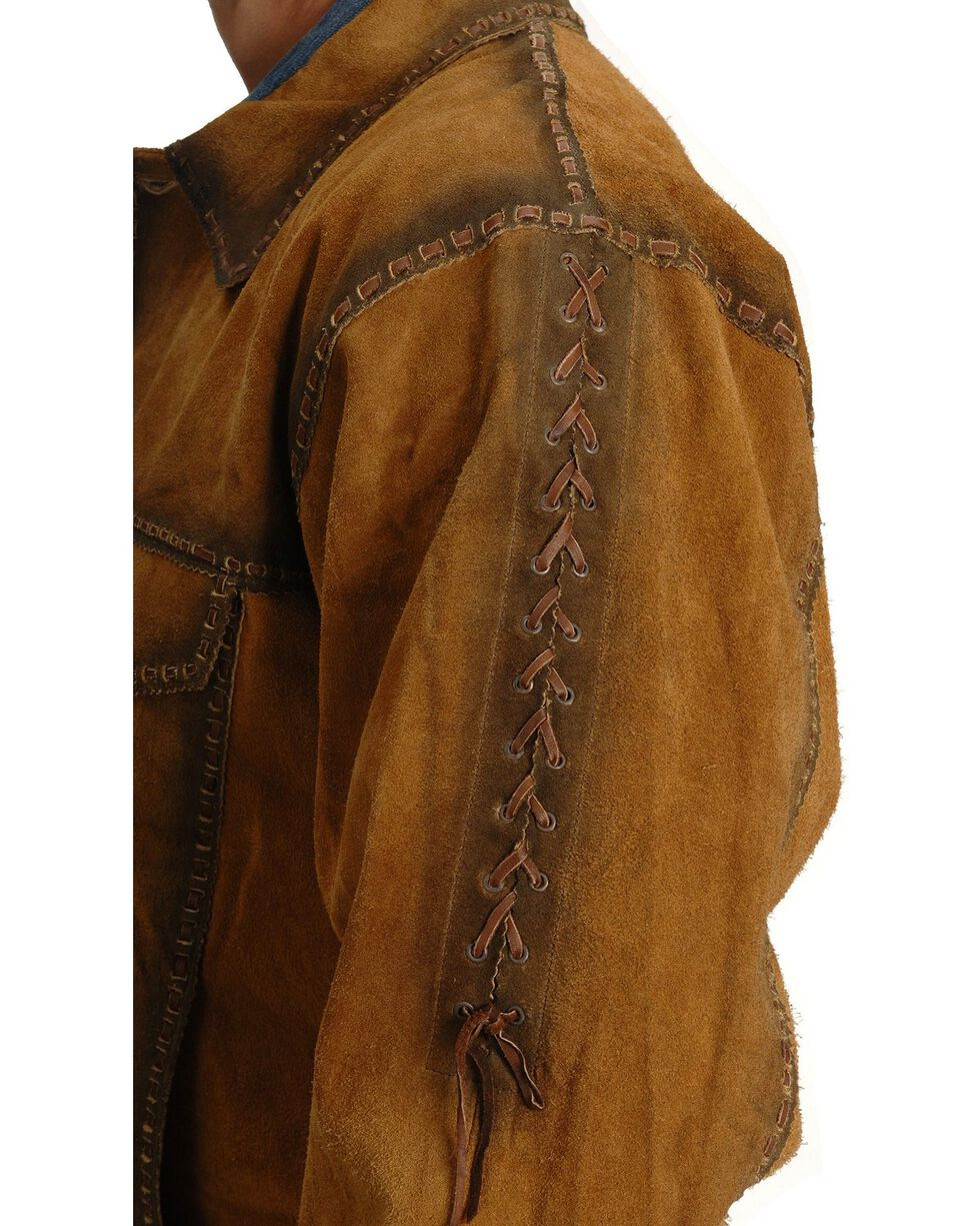 Kobler Rusty Suede Leather Jacket, Acorn, hi-res