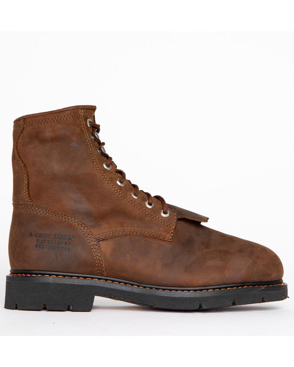 Cody James® Comp Toe Waterproof Kiltie Work Boots , Brown, hi-res