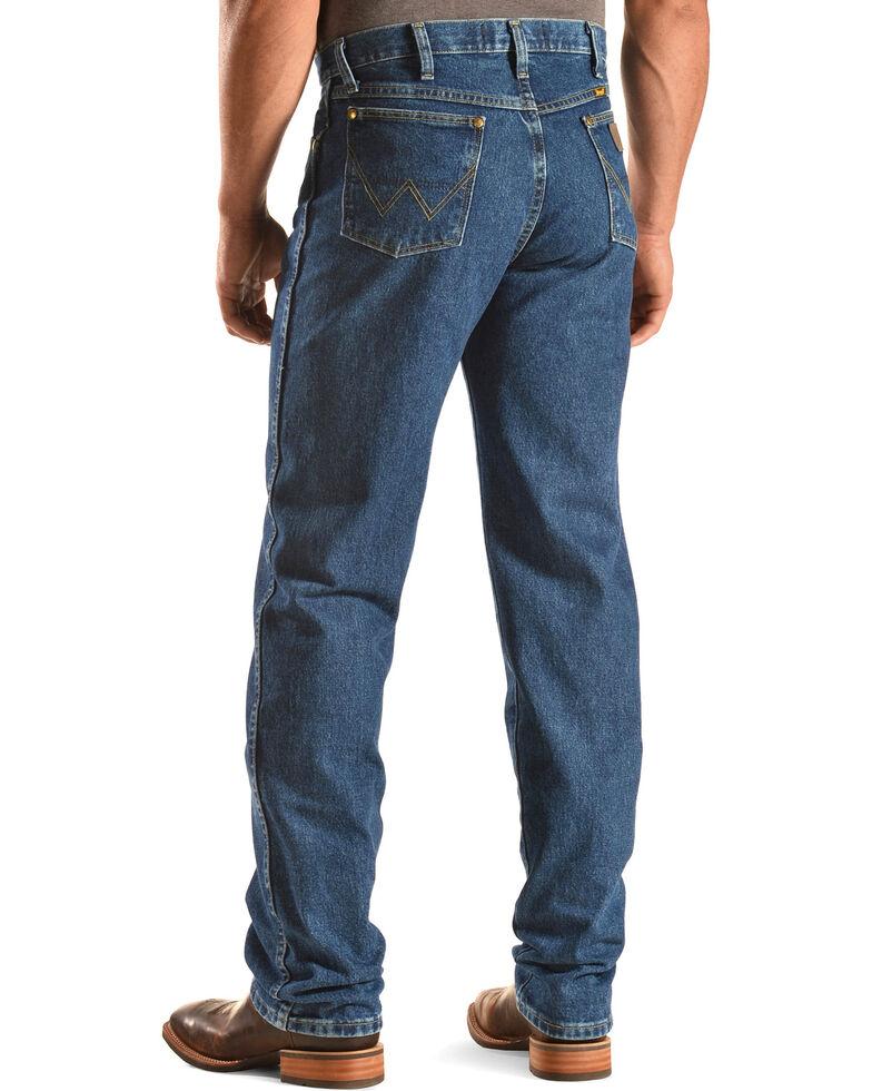 8619bfa3 Zoomed Image George Strait by Wrangler Men's Cowboy Cut Western Jeans, Denim,  hi-res