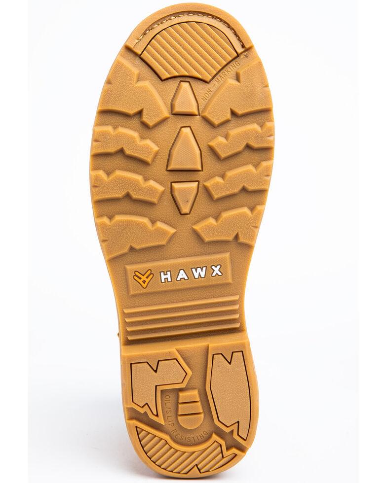 Hawx Men's Wheat Crew Chief Work Boots - Composite Toe, Wheat, hi-res