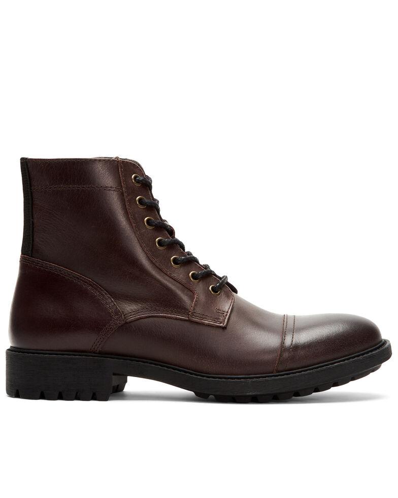 Frye Men's Cody Work Boots - Soft Toe, Dark Brown, hi-res