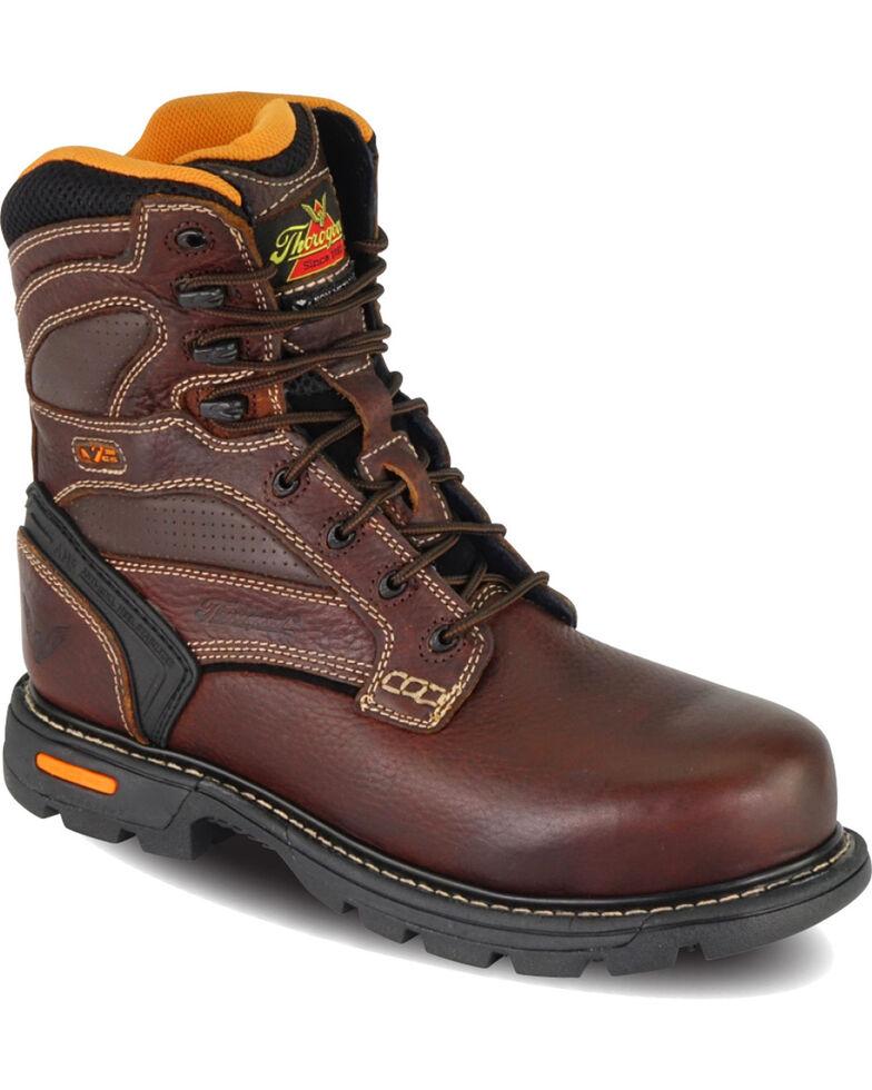 "Thorogood Men's GenFlex2 8"" Work Boots - Composite Toe, Brown, hi-res"