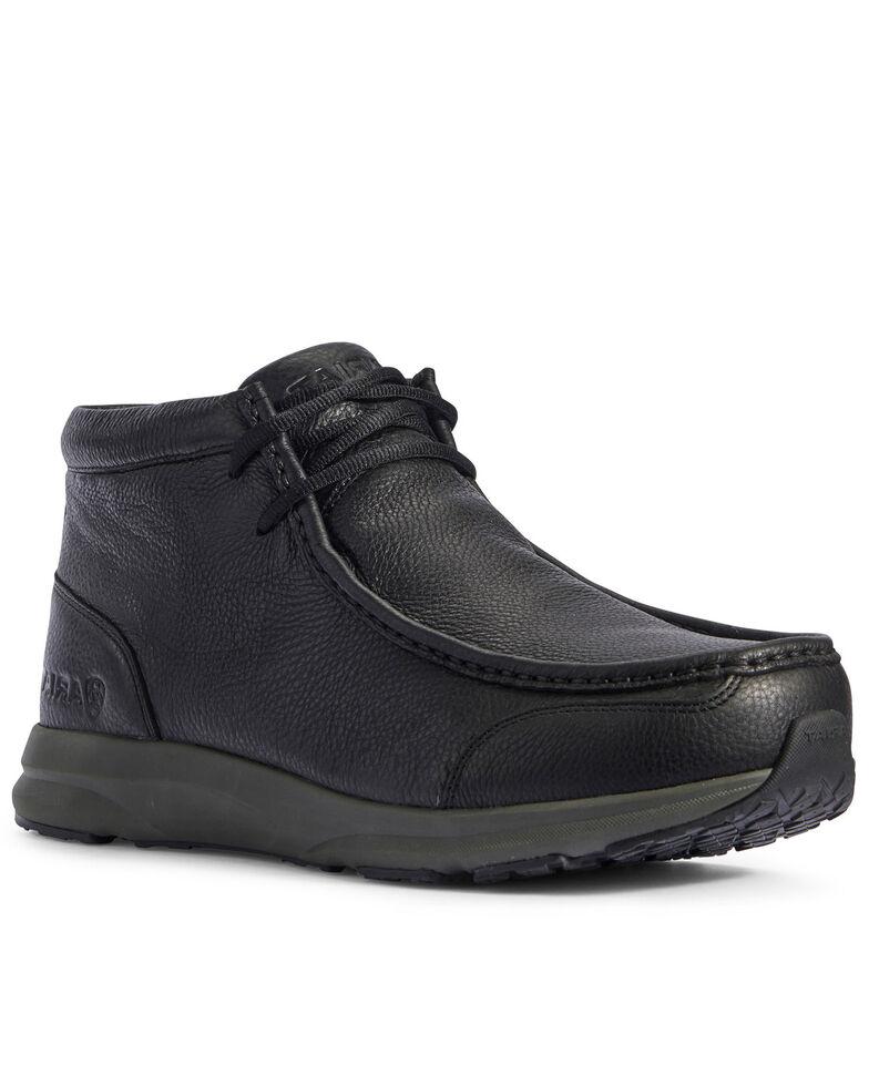 Ariat Men's Spitfire Black Lace-Up Boots - Moc Toe, , hi-res