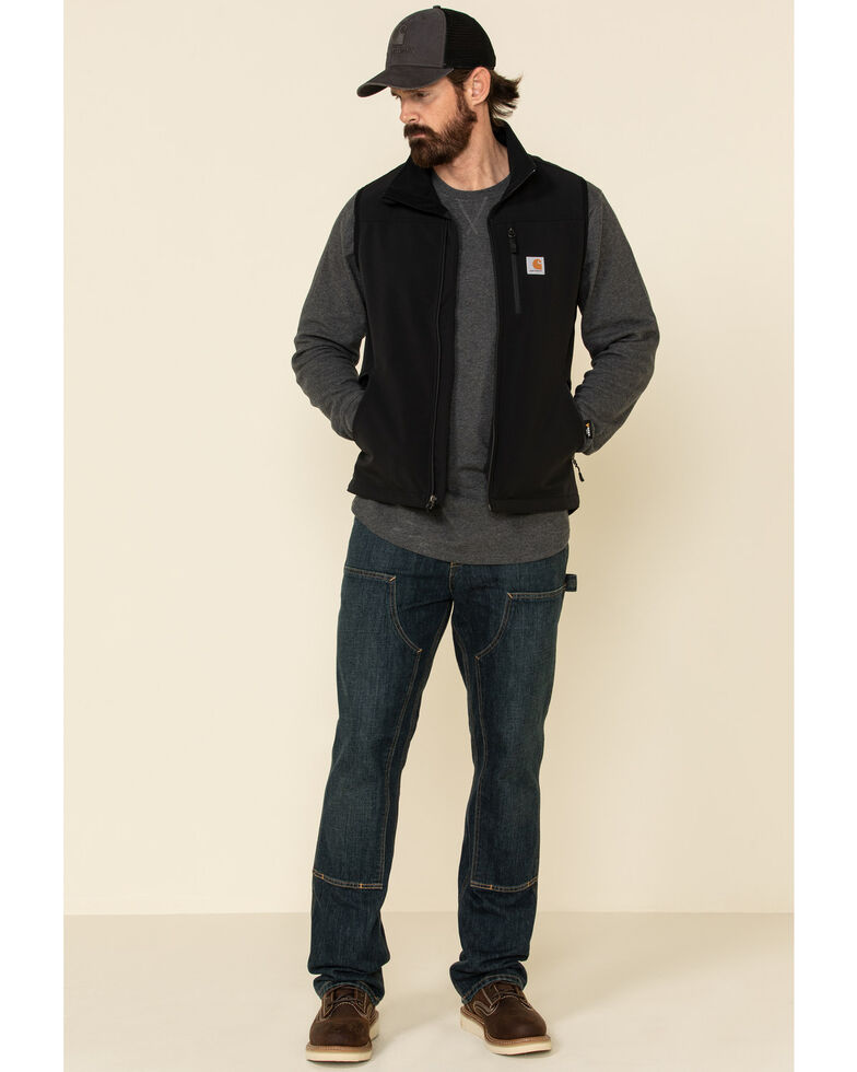 Carhartt Men's Denwood Work Vest - Big & Tall, Black, hi-res