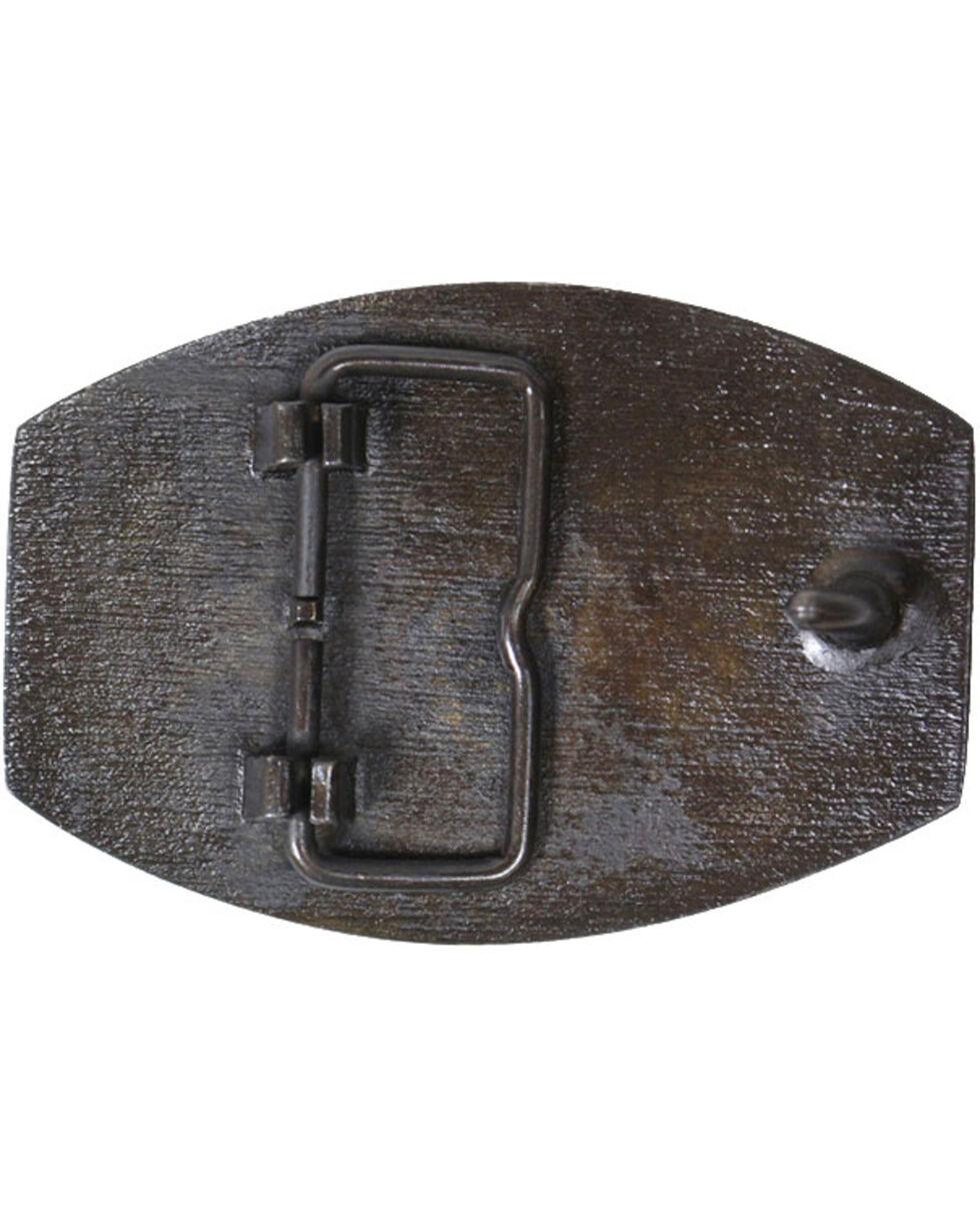 Cody James® Long Horn Bronze Belt Buckle, Multi, hi-res