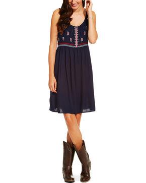 Ariat Women's Susie Dress, Navy, hi-res
