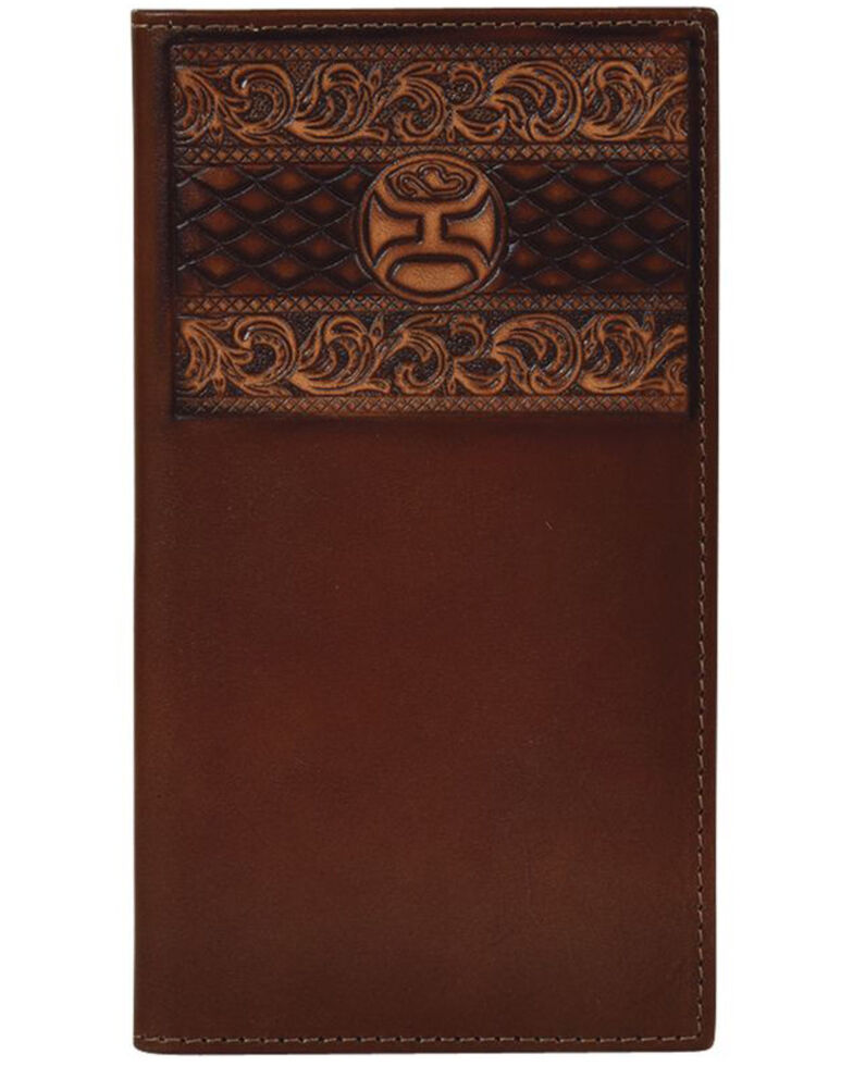 HOOey Men's Roughy Signature Rodeo Wallet, Brown, hi-res