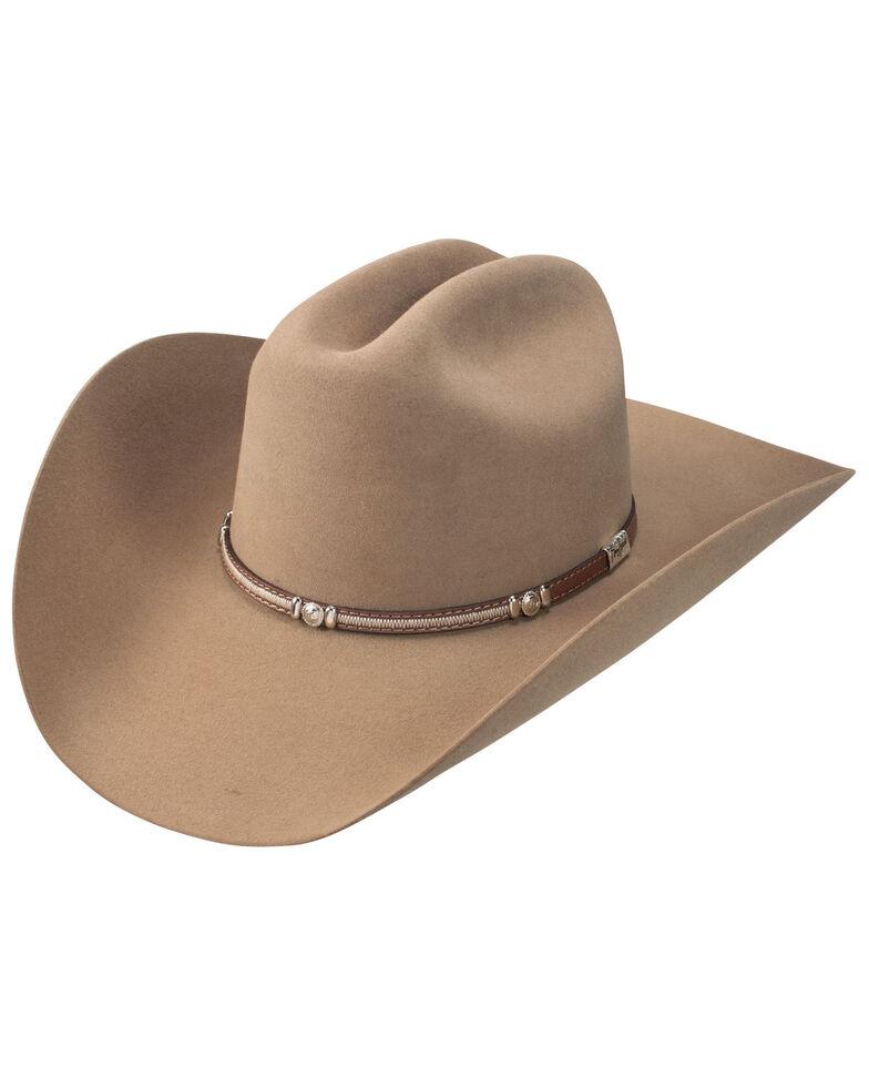 Resistol Tan 6X Avondale Fur Felt Western Hat , Tan, hi-res