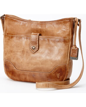 Frye Women's Melissa Button Crossbody Bag , Beige/khaki, hi-res
