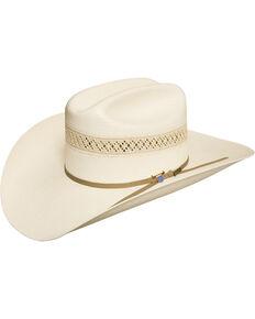 USTRC Resistol WildFire 10X Straw Cowboy Hat, Natural, hi-res