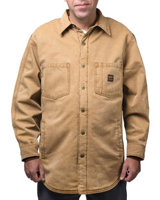 Walls Men's Bandera Vintage Duck Shirt Jacket, Pecan, hi-res