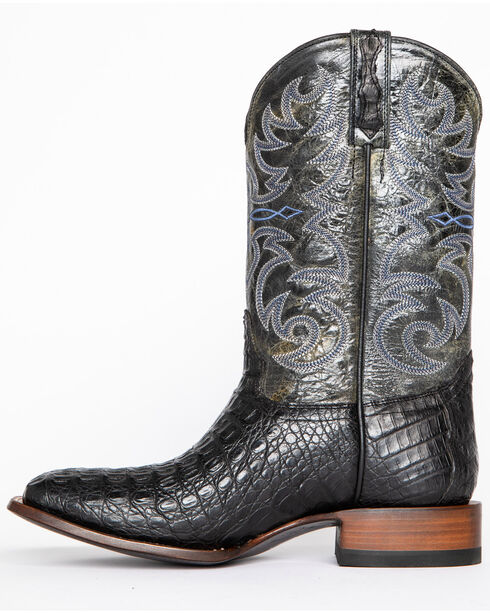 Cody James® Men's Caiman Embroidered Exotic Boots , Black, hi-res