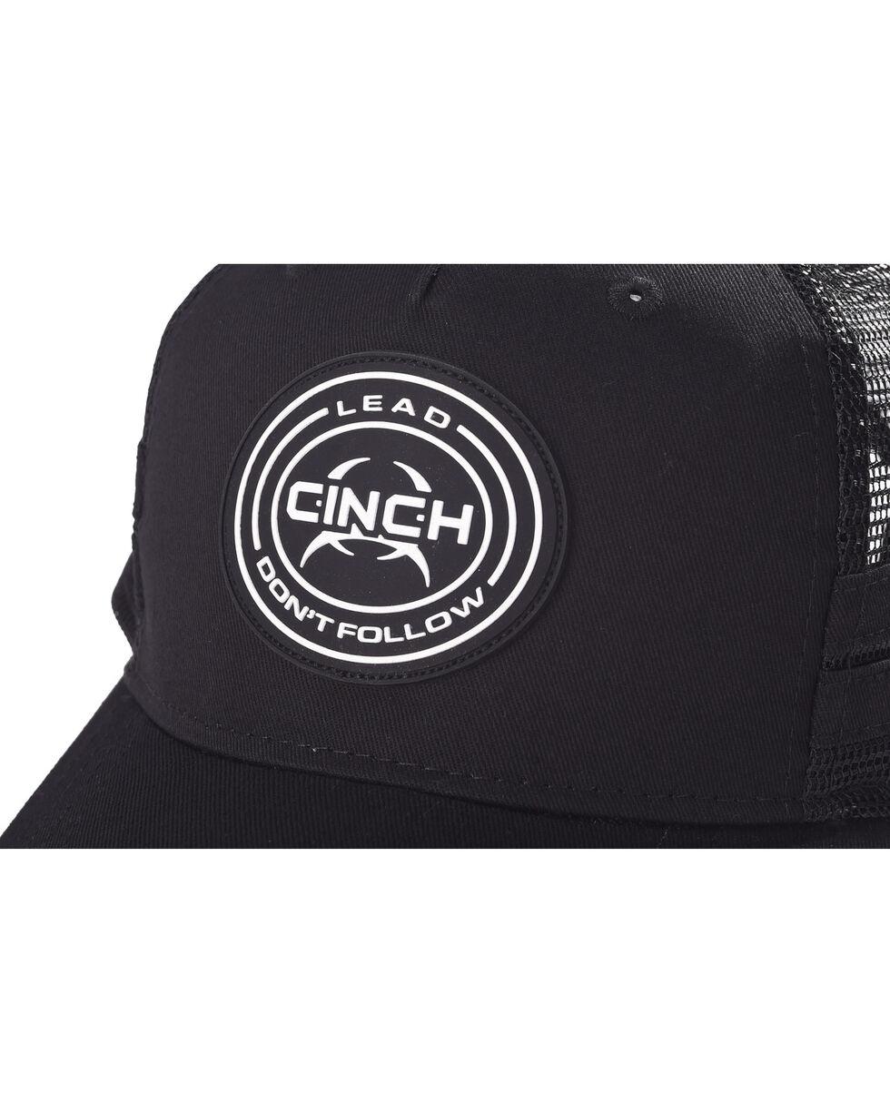 Cinch Boys' Black Mesh Back Trucker Cap , Black, hi-res