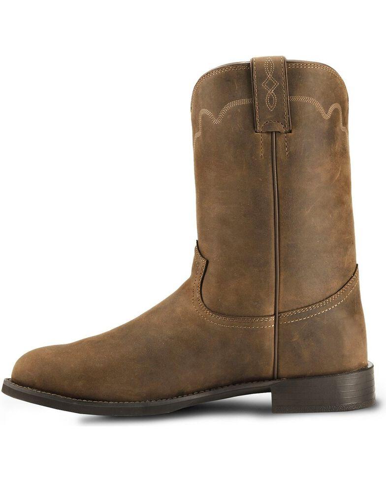 Justin Men S Stampede Roper Western Boots Boot Barn