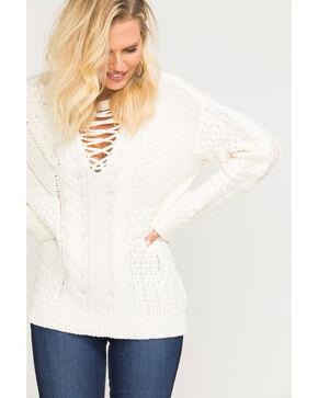 Idyllwind Women's Fireside Sweater, Ivory, hi-res
