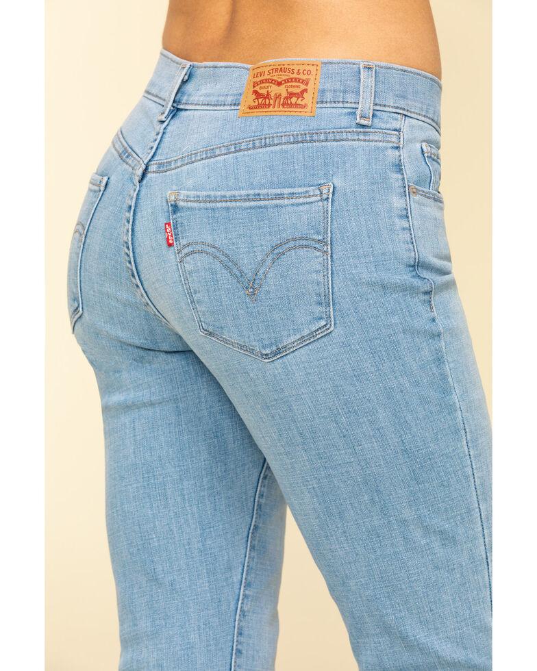 Levi's Women's Classic Light Wash Bootcut Jeans , Blue, hi-res