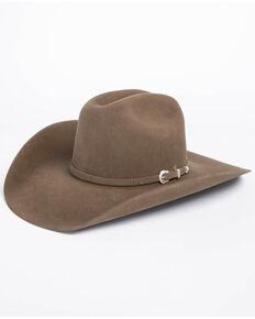 d271da9d5994b American Hat Co. Men s 7X Pecan Self Buckle Felt Cowboy Hat