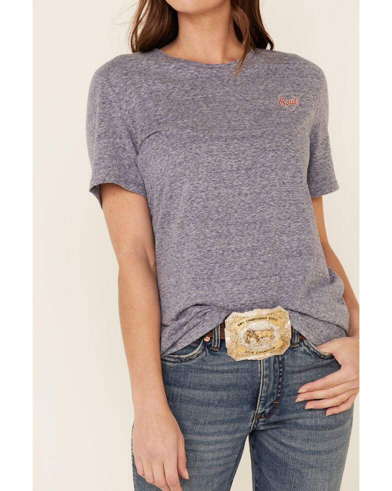 Ariat Women's Navy Country Song Graphic Tee , Navy, hi-res