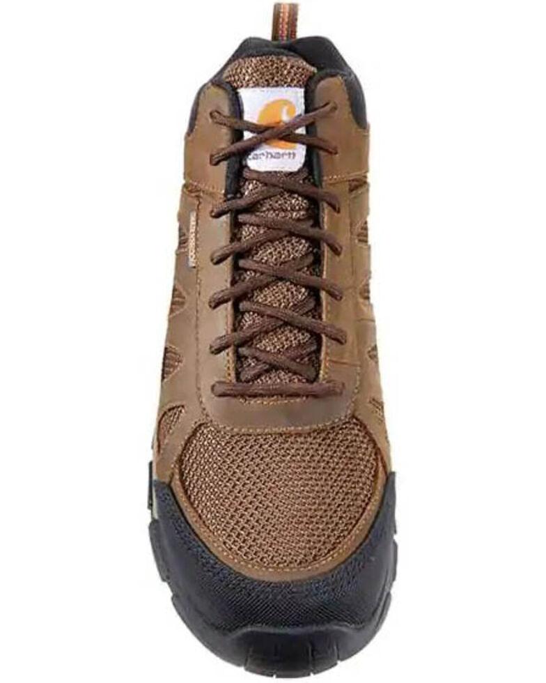 Carhartt Men's Lightweight Hiker Work Boots - Carbon Toe, Brown, hi-res