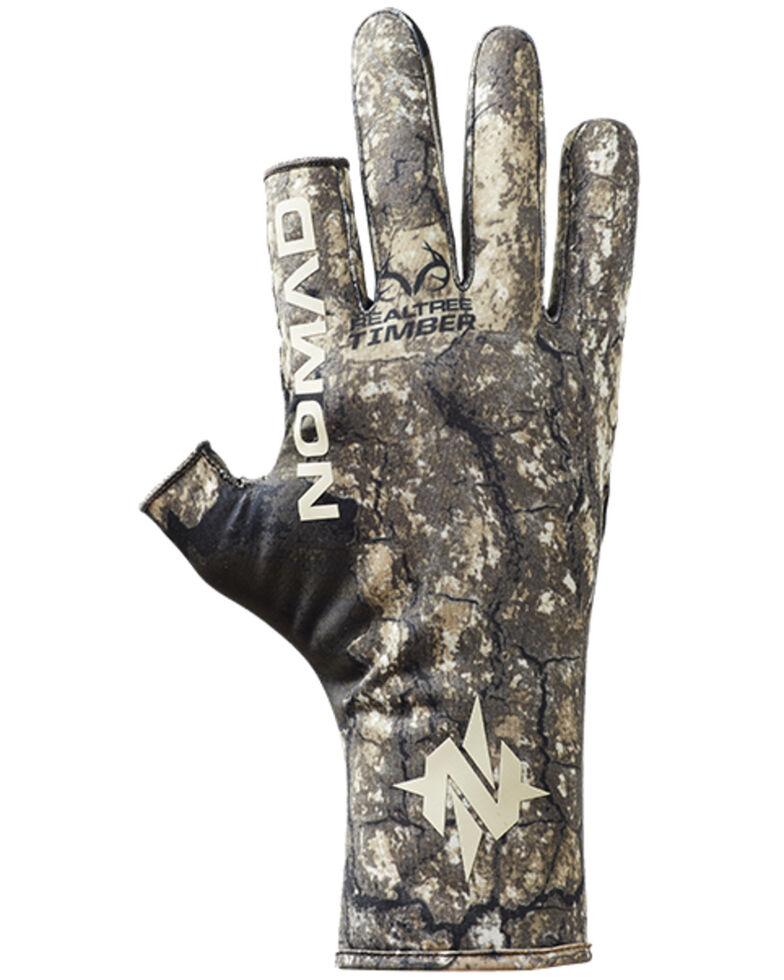 Nomad Men's Timber Fingerless Turkey Gloves, Camouflage, hi-res