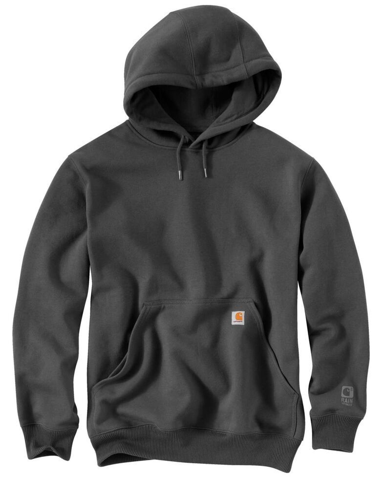 Carhartt Rain Defender Paxton Heavyweight Hooded Sweatshirt - Big & Tall, Charcoal, hi-res